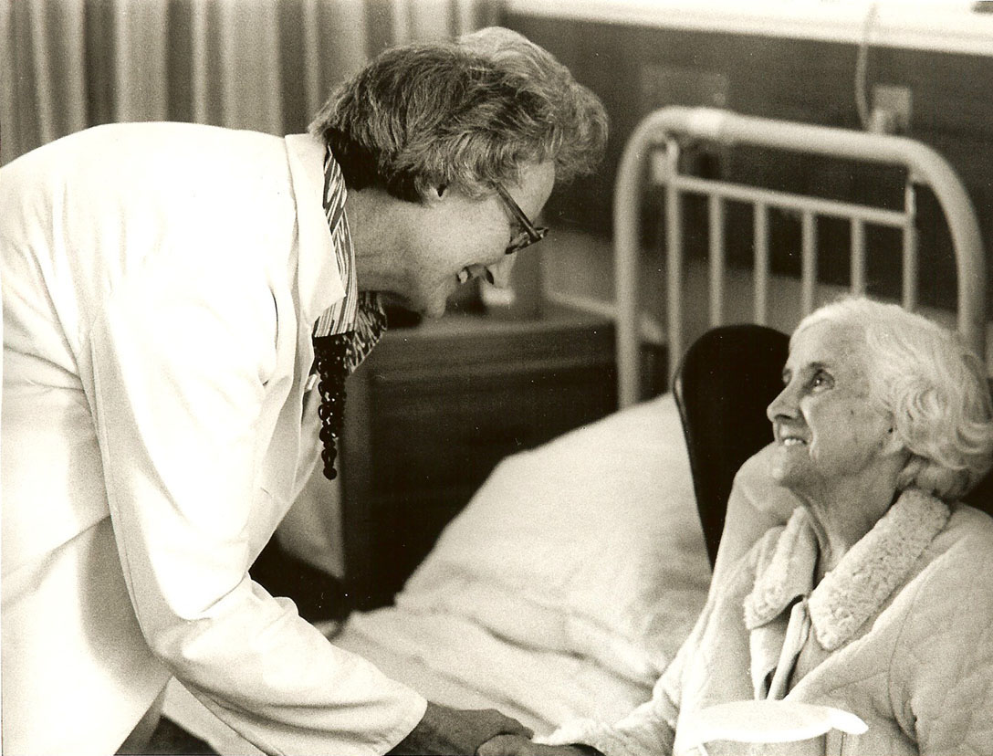 «Tu es important parce que tu es, et tu es important jusqu'au dernier moment de ta vie.» Dr Cicely Saunders